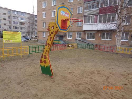 детские площадки ул. Гайдара, д.6-д.7