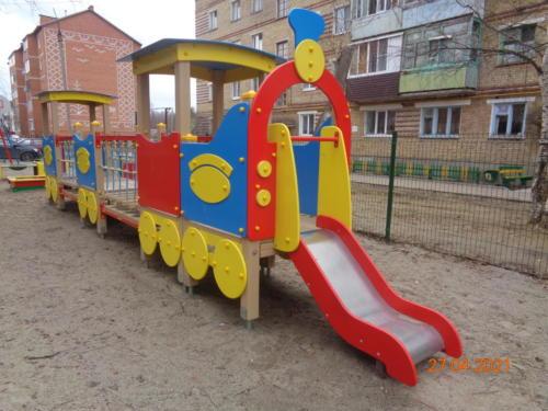 детские площадки ул.Гайдара, д.8-д.9