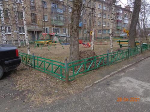 детские площадки ул.Гайдара, д.3-д.4