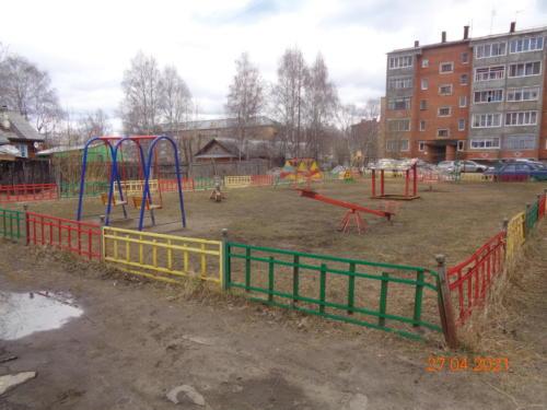 Детские площадки, ул.З.Космодемьянской, д. 13
