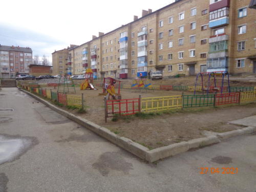 Детские площадки , ул.Горького, д.14