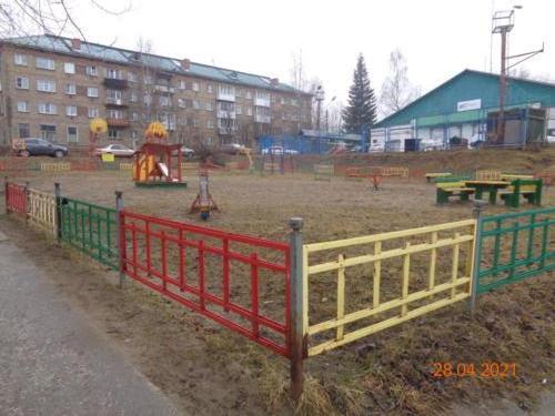 детские площадки, ул.Оплеснина, д.20