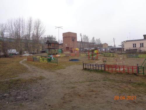 детские площадки, ул.Оплеснина. л.16